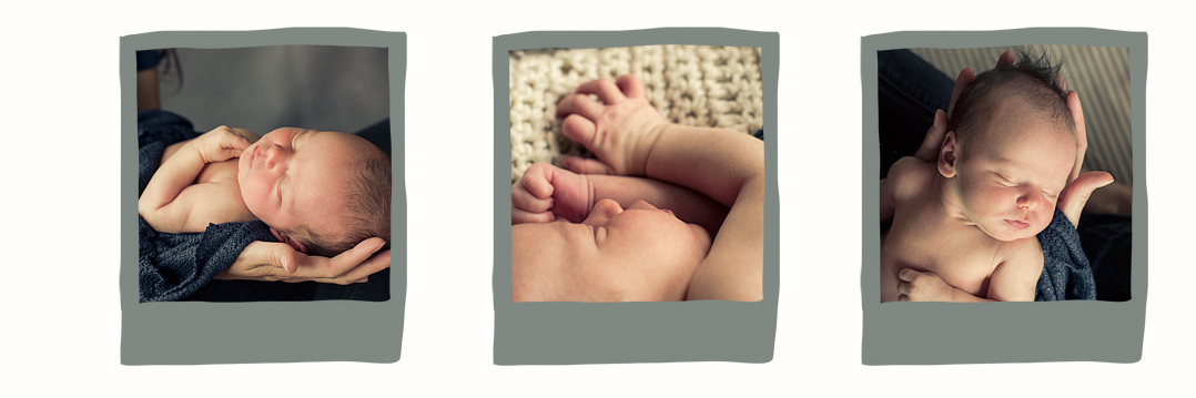 Newborn gift - photography credit